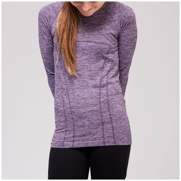 d9883a0f Ivivva Shirts & Tops   By Lululemon Fly Tech Long Sleeve Girls Szm ...